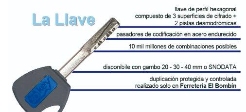 Cerradura Mottura 3d key llave